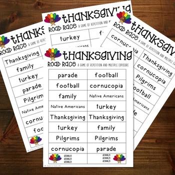 Thankgiving Game
