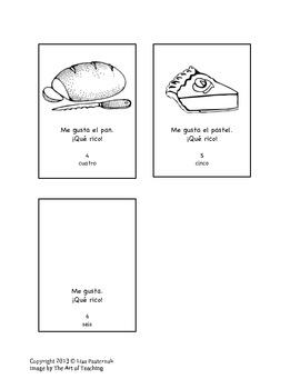 Thankgiving Mini-Book- Me Gusta