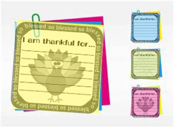 Thanksgiving Post-It FREEBIE