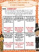 Thanksgiving Shopping Math Review with Decimals (NO PREP)