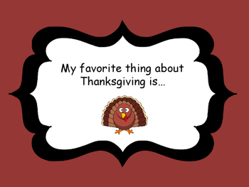 Thankgiving Writing Prompts