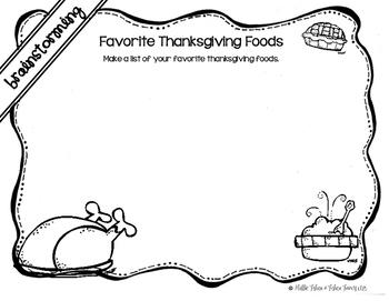Thankgiving Writings