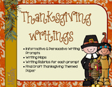 Thankgiving Writings