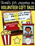 Thanks For Popping In Volunteer Gift Tags
