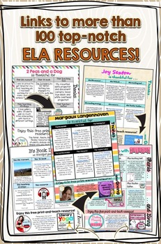 Thanks + Giving eBook: Set 2, Grades 6-8 ELA (Free)