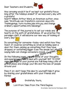 Thanks Living Gratitude Journal