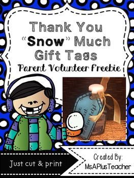 """Thanks """"Snow"""" Much Tags"""