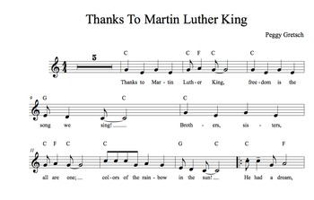 Thanks To Martin Luther King