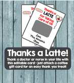 Thanks a LATTE for school nurses