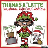 Thanks a Latte Christmas Gift Card Printables and Tiny Tags