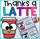 Thanks a Latte - Editable Cards