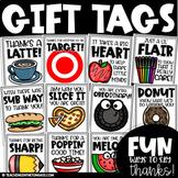 Teacher Tags (Teacher Appreciation and Volunteer Thank You Tags)