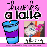 Thanks a Latte Gift Tag!