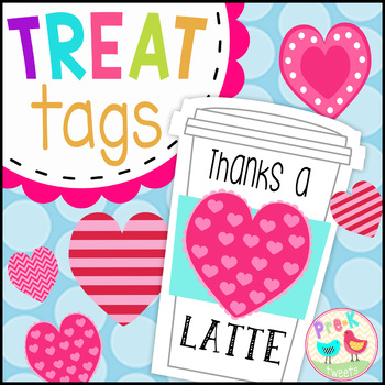 photo regarding Thanks a Latte Printable Tag referred to as Due A Latte Reward Tags Worksheets Training Materials TpT