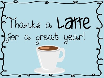 picture relating to Thanks a Latte Printable Tag named Due A Latte Reward Tags Worksheets Coaching Materials TpT
