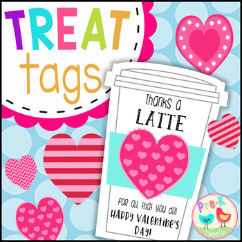 Latte Valentine Gift Tags