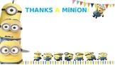 Thanks a Minion!