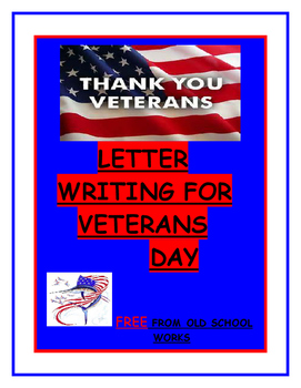 Letter Writing for Veterans Day