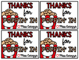 Thanks for Popping In Editable Gift Tag {FREEBIE}