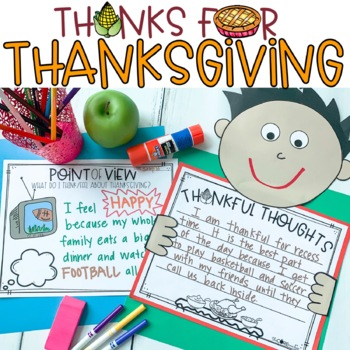 Thanks for Thanksgiving: Interactive Read-Aloud Lesson Plans