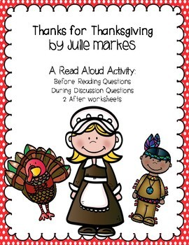 Thanks for Thanksgiving by Julie Markes BDA Lesson
