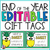 Thanks for a SWEET Year- Editable Cards