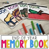 End of Year Memory Book - Multi-grade version