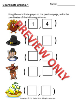 Thanksgiving Bundle Social Studies Literacy and Math Grades 3 to 5