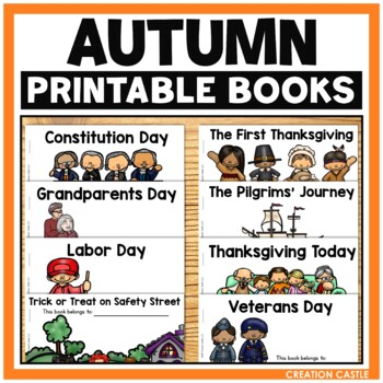 Thanksgiving Guided Reading Books