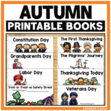 Thanksgiving, Halloween, Constitution Day, and More Fall Holiday Books