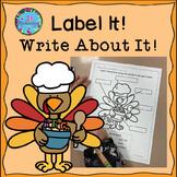 Thanksgiving ESL - Thanksgiving Writing