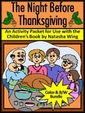 Thanksgiving Activities: The Night Before Thanksgiving Act