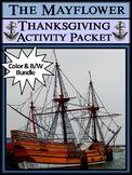 Thanksgiving Activities: The Mayflower Activity Packet Bun