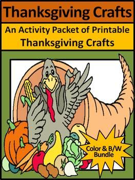 Thanksgiving Activities: Thanksgiving Crafts