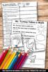 Thanksgiving Craftivity, Kindergarten Thanksgiving Booklets + Finger Puppets