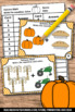 Thanksgiving Math Centers, Kindergarten Addition Facts Task Cards & Games
