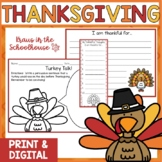 Thanksgiving - Activities to Celebrate the Thanksgiving Holiday