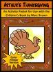 Thanksgiving Activities: Arthur's Holiday Bundle