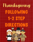 Thanksgiving 1-2 step directions