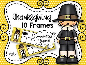 Thanksgiving 10 Frames