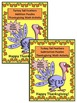 Thanksgiving Activities: Turkey Tail Feathers Math Puzzles