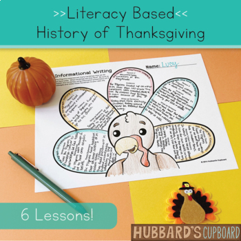 Thanksgiving Activities / Thanksgiving Writing with Close Reading & Writing