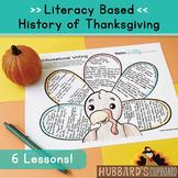 Thanksgiving Close Reading / Thanksgiving Activities / Thanksgiving Writing