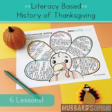 4th-6th Digital Thanksgiving Activities/ Thanksgiving Writing / Reading Passages