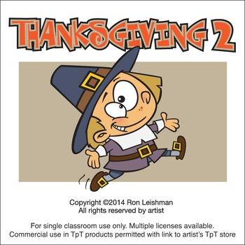 Thanksgiving Cartoon Clip Volume 2
