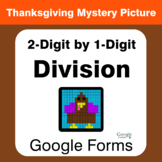 Thanksgiving: 2-Digit by 1-Digit Division - Math Mystery Picture - Google Forms