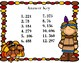 Thanksgiving 2 Digit by 1 Digit Task Cards