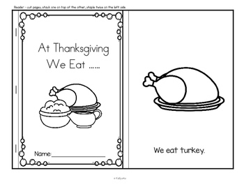 Thanksgiving Food Centers and Activities for Preschool and Pre-K
