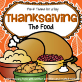 Thanksgiving Food Centers and Activities for Preschool - The Food