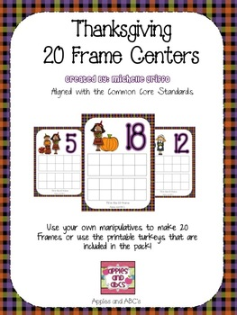 Thanksgiving 20 Frame Center